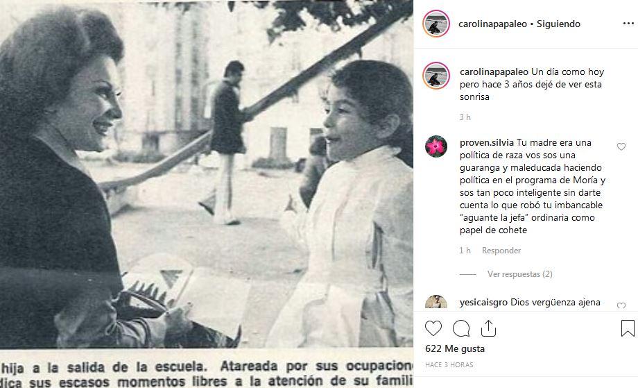 Carolina Papaleo Y El Tierno Recuerdo De Su Mamá Irma Roy